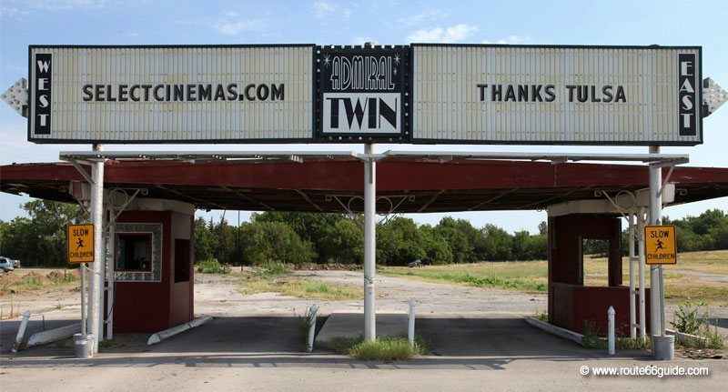 Admiral Twin Drive-In, Tulsa OK