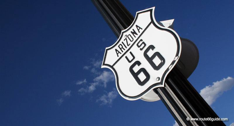 Map Of Old Route 66 Arizona.Route 66 In Arizona Williams And The Grand Canyon