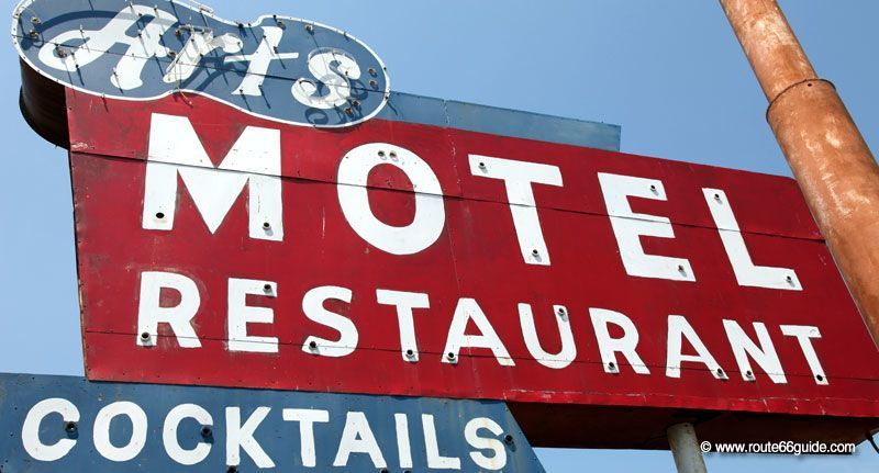 Art's Motel, Farmersville IL