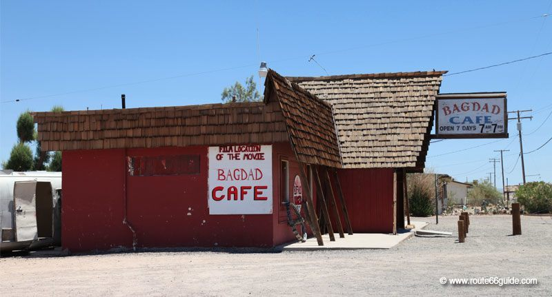 Bagdad Cafe in Newberry Springs, CA