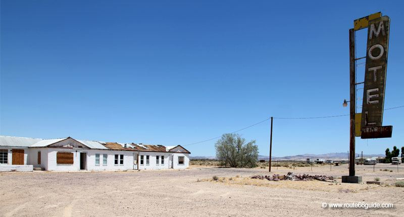 Abandoned Motel in Newberry Springs, CA