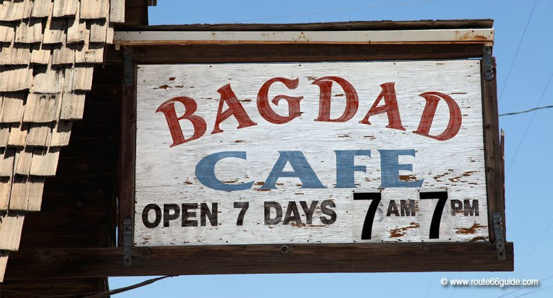 Bagdad Cafe on Route 66