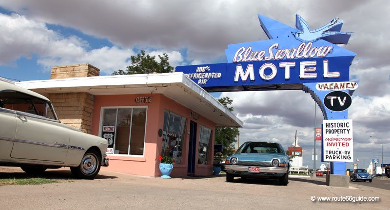 Blue Swallow Motel, Tucumcari NM