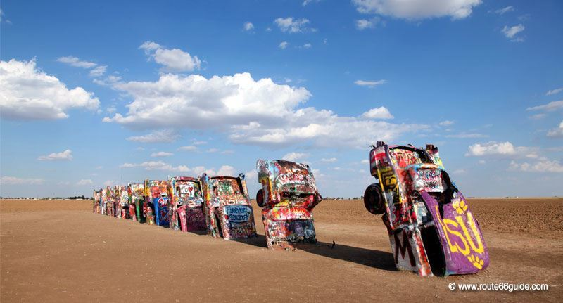Cadillac Ranch in Texas