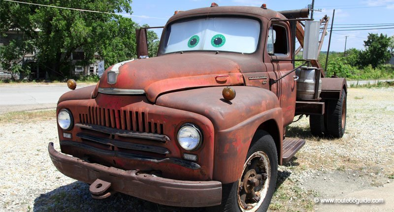 Tow Mater (Cars) in Galena, Kansas