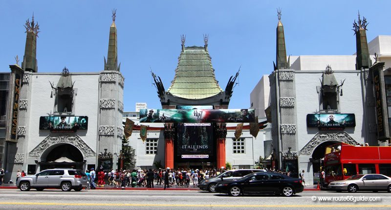 Chinese Theater, Los Angeles CA