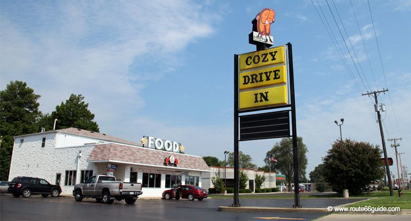 Cozy-dog Drive-In, Springlfield IL