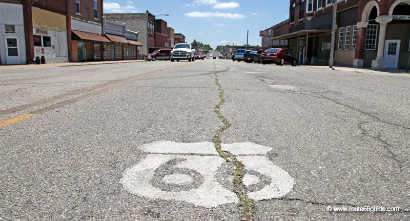 Route 66 in Galena, Kansas