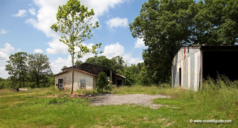 Ghost town of Hofflins, Missouri
