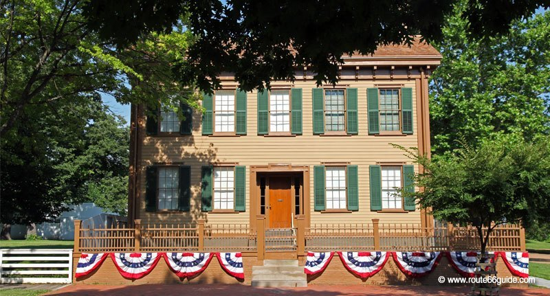Abraham Lincoln's Springfield Home