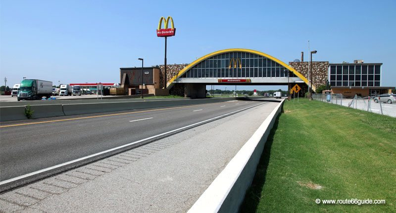 The world's former largest McDonald's