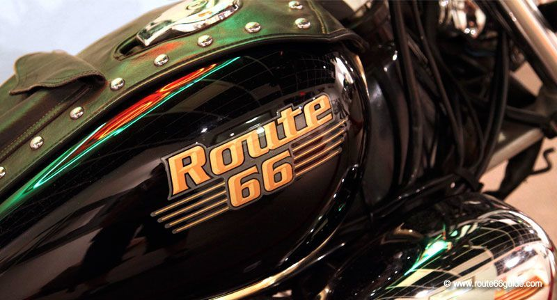 Yamaha Route 66 Motorcycle
