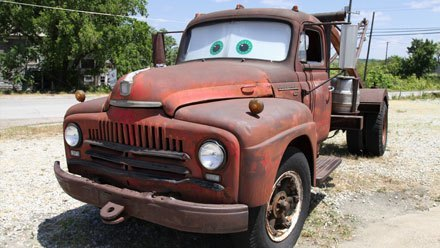 Cars: Tow Mater in Kansas