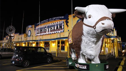 Big Texan Steak Ranch, Amarillo TX