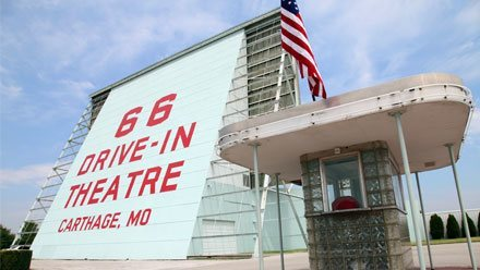Drive-In theaters along Route 66