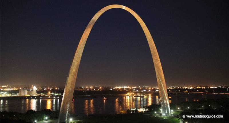 Route 66 In Missouri St Louis Gateway Arch