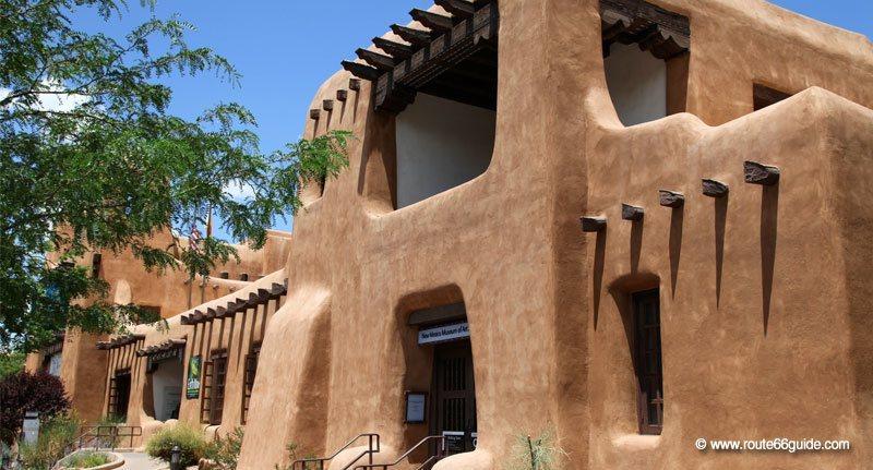 Albuquerque To Santa Fe >> Route 66 In New Mexico Albuquerque And Santa Fe