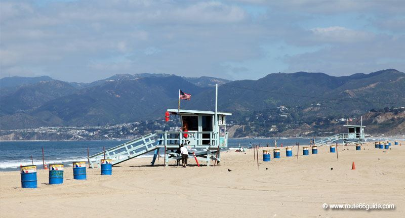 Santa Monica beach, Los Angeles CA