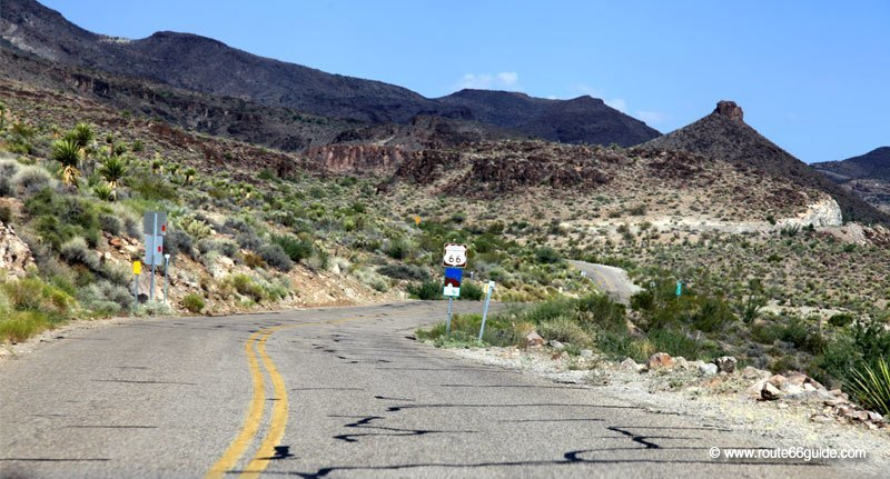 Sitgreaves Pass from Kingman To Oatman