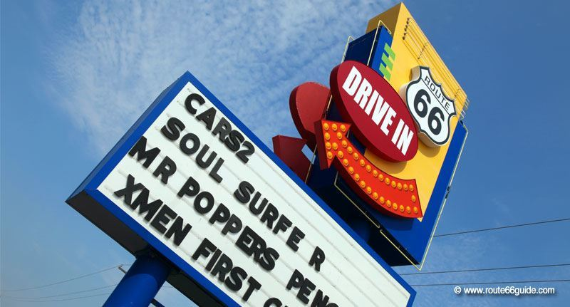 Route 66 Twin Drive-In Theatre, Springfield IL