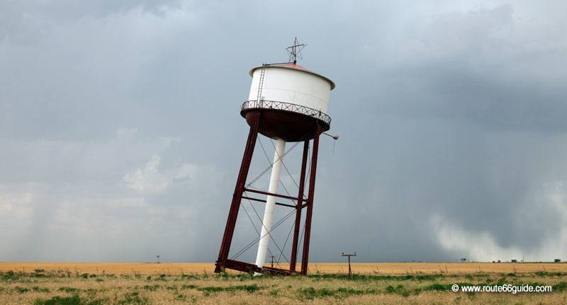 Leaning Water Tower, Groom TX