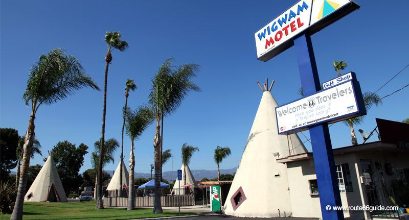 WigWam motel in Rialto, California